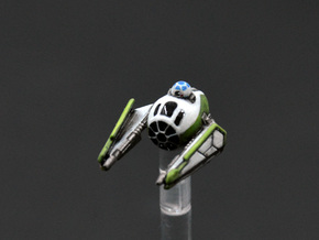 Modified ETA-2 Jedi starfighter 1/270 in Smoothest Fine Detail Plastic