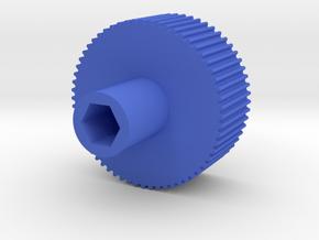 3-16 finger nut driver in Blue Processed Versatile Plastic