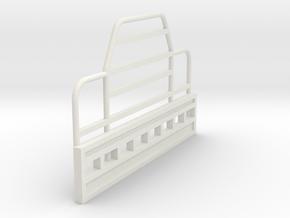 Rubber Duck-Bullbar-1to64 in White Natural Versatile Plastic