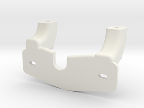 Mounting bracket for Trail Tech Endurance II in White Natural Versatile Plastic