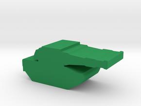 Game piece, SQUAD Tank in Green Processed Versatile Plastic