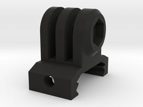 GoPro Picatinny Mount (Side Tilting) in Black Natural Versatile Plastic