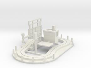 Kinderhügel ohne Besatzung - 1:87 (H0 scale) in White Natural Versatile Plastic