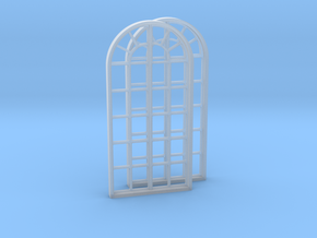 Factory Windows, 2x in Smooth Fine Detail Plastic: 1:45