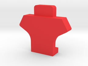 IMPRIMO - CF Version (Printable Head) in Red Processed Versatile Plastic
