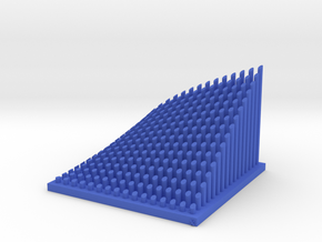 Cobb-Douglas Function (IRS) Memo Stand in Blue Processed Versatile Plastic