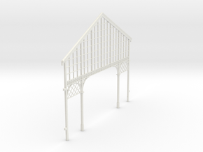 HOGG-VerFac02 - Large modular train station in White Natural Versatile Plastic