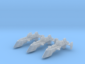 Viper Destroyers (3) in Smooth Fine Detail Plastic