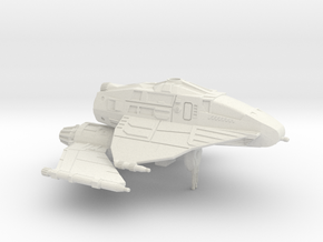 Skipray Blastboat 1/270 (Movable wings and Turret) in White Natural Versatile Plastic