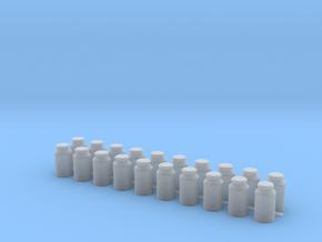 Ten Gallon (40 L) Cylindrical Milk Churn in Smooth Fine Detail Plastic: 1:48 - O