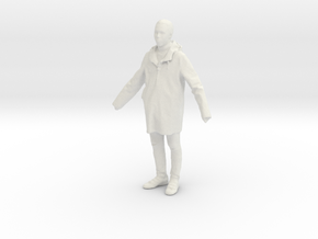 Printle C Homme 214 - 1/32 - wob in White Natural Versatile Plastic