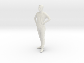 Printle C Homme 219 - 1/32 - wob in White Natural Versatile Plastic