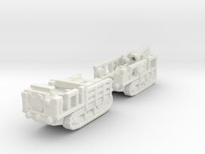 st chamond Mortier 280mm 1/144 ww1 artillery  in White Natural Versatile Plastic