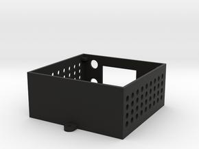 BREW PI ENCLOSURE BOTTOM in Black Natural Versatile Plastic