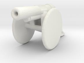 bl 6 inch 30 cwt howitzer 1/200 ww1 artillery  in White Natural Versatile Plastic