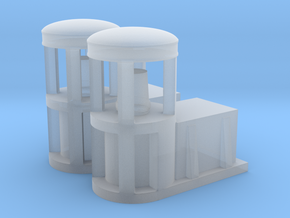sulaco hangar light 1:72 scale in Smooth Fine Detail Plastic