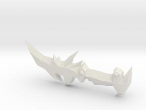 Abyssal Dagger - 2007scape in White Natural Versatile Plastic