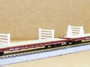 MOW Rail Frames - Nscale in Frosted Ultra Detail