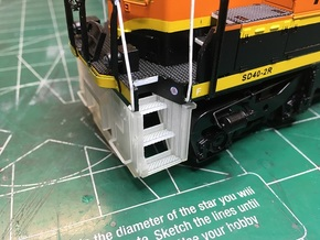 MTH SD45 Pilot Set in Smooth Fine Detail Plastic