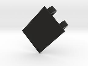 Lancia Delta 1 Door Handle w. Front in Black Natural Versatile Plastic
