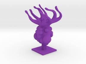 Lovecraftian Abomination in Purple Processed Versatile Plastic