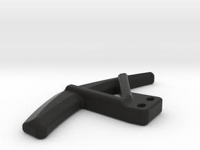 Lamborghini Style Shifter Paddle - Left in Black Natural Versatile Plastic