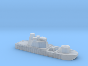 1/285 Scale Vietnam River Boat Monitor  in Smooth Fine Detail Plastic