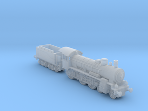 P8_Locomotive_1:285 in Smoothest Fine Detail Plastic