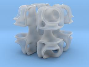Cubic Lattice in Smooth Fine Detail Plastic