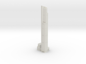 CTF Finance Centre (1:2000) in White Natural Versatile Plastic