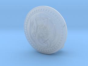Shield01-Buckler-Dragon 6-7inch MOTU in Smooth Fine Detail Plastic