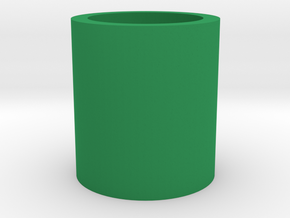 Succulent and air plant pot in Green Processed Versatile Plastic