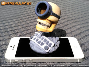 Minion Skull in Full Color Sandstone