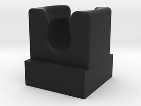 Mixel Socket w/ AntiStud in Black Natural Versatile Plastic