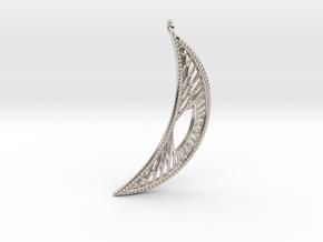 Earring #4 in Platinum