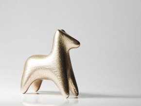 A wedding present - Dog in Stainless Steel