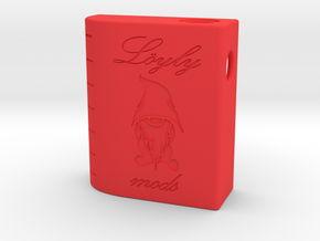 Parallel Squonker in Red Strong & Flexible Polished