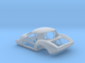GINETTA G4 Tub 1/24 in Smooth Fine Detail Plastic