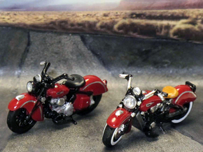 Indian Sport Scout 1941  1:87  HO in Frosted Ultra Detail