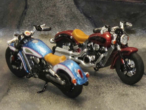 Indian Scout 2016  1:87  HO  in Smooth Fine Detail Plastic