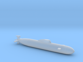 Akula SSN, Full Hull, 1/1800 in Smooth Fine Detail Plastic