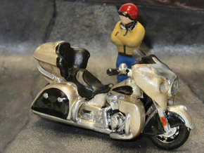 Indian Roadmaster 2015  1:87 HO in Smooth Fine Detail Plastic