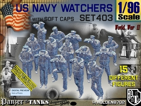 1/96 USN Watchers Set403 in Smooth Fine Detail Plastic