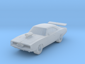 Dodge Charger Scale TT in Smoothest Fine Detail Plastic