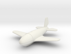 (1:144) von Braun VTO second version in White Natural Versatile Plastic