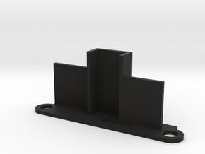 RX5808 Pro Diversity FPV receiver mount in Black Natural Versatile Plastic