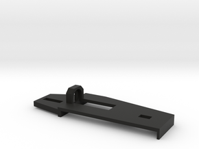 Tamiya M Chassis M-03 & FF-02 Servo Support Plate  in Black Natural Versatile Plastic