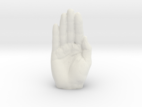 Hands Up (100318HU30) in White Premium Strong & Flexible: Small