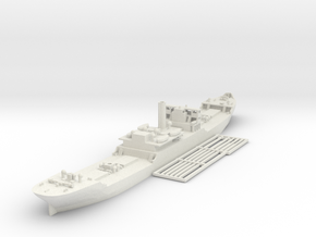 EFC 1013 WW1 freighter Various Scales in White Natural Versatile Plastic: 1:700