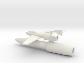 (1:144) Blohm und Voss BV MGRP in White Natural Versatile Plastic